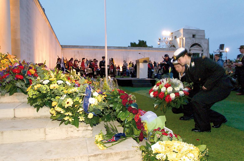 Les commémorations de l'Anzac Day