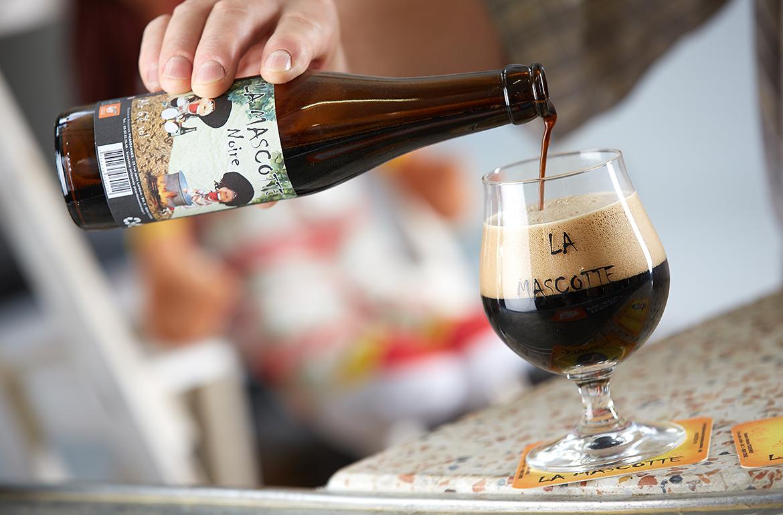 La mascotte, bière de la brasserie artisanale Picardennes