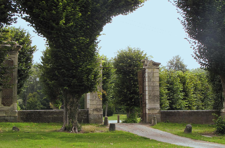 Vestiges du château d'Heilly