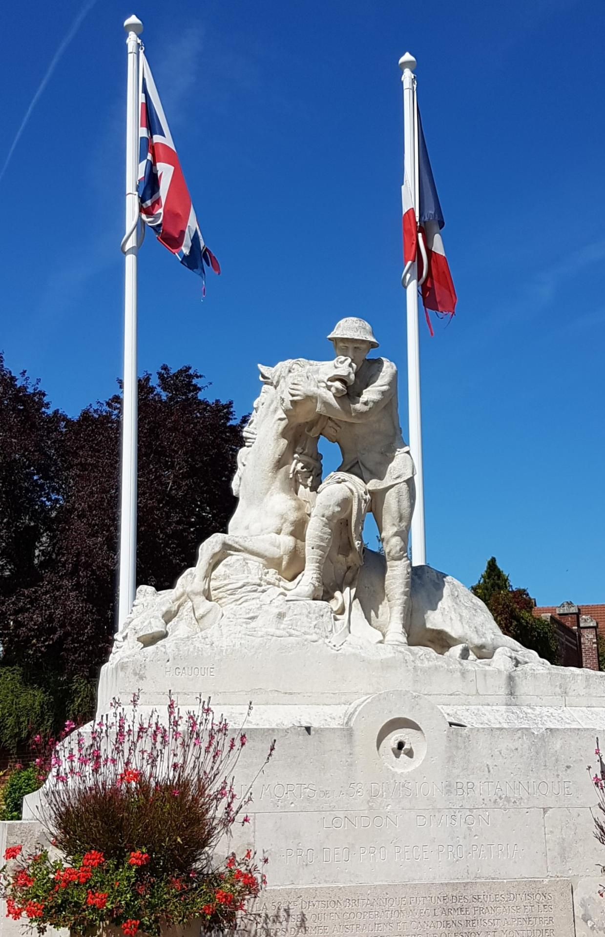 Le monument aux morts de Chipily