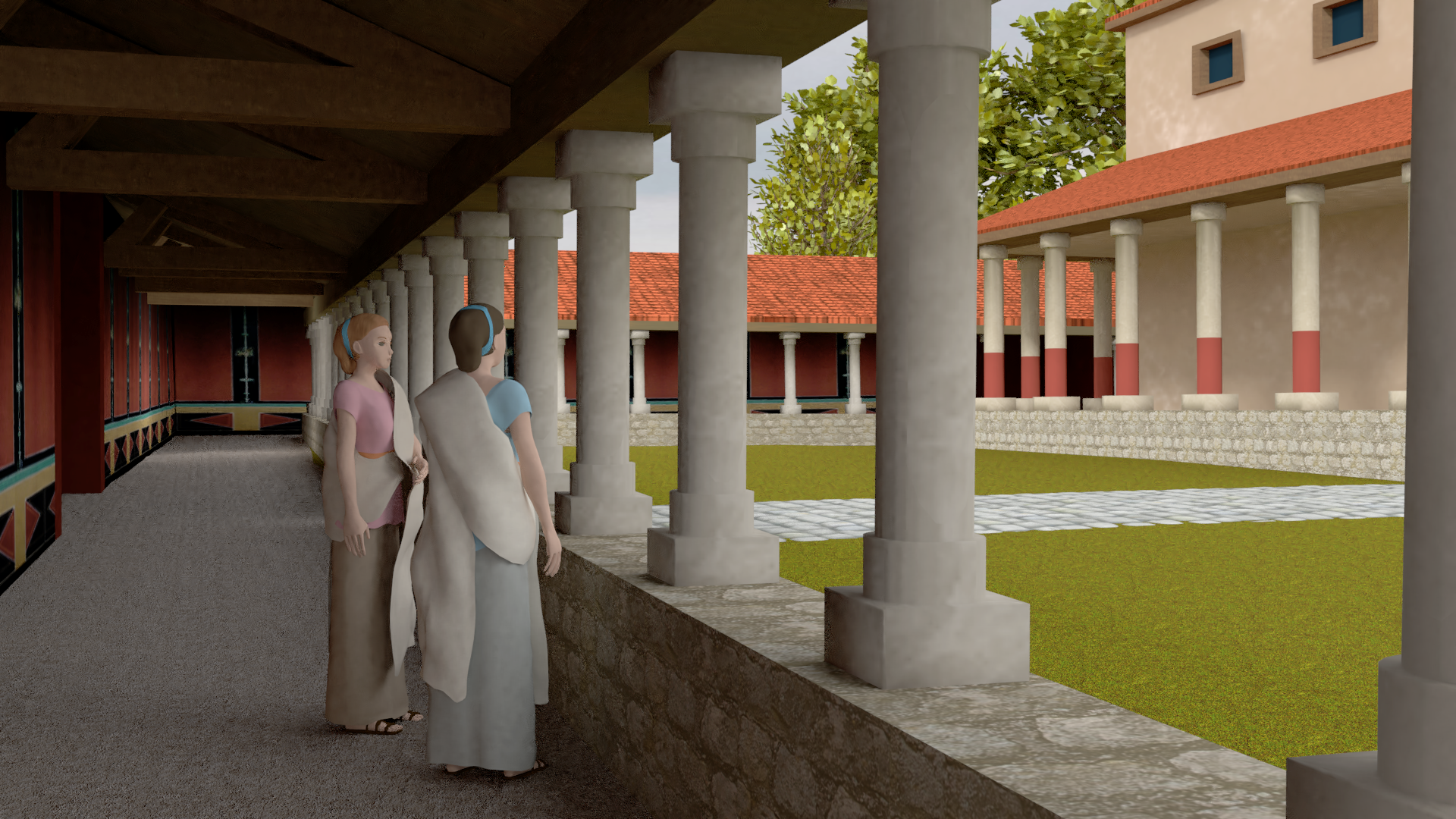 Reconstitution 3D du site de Ribemont-sur-Ancre