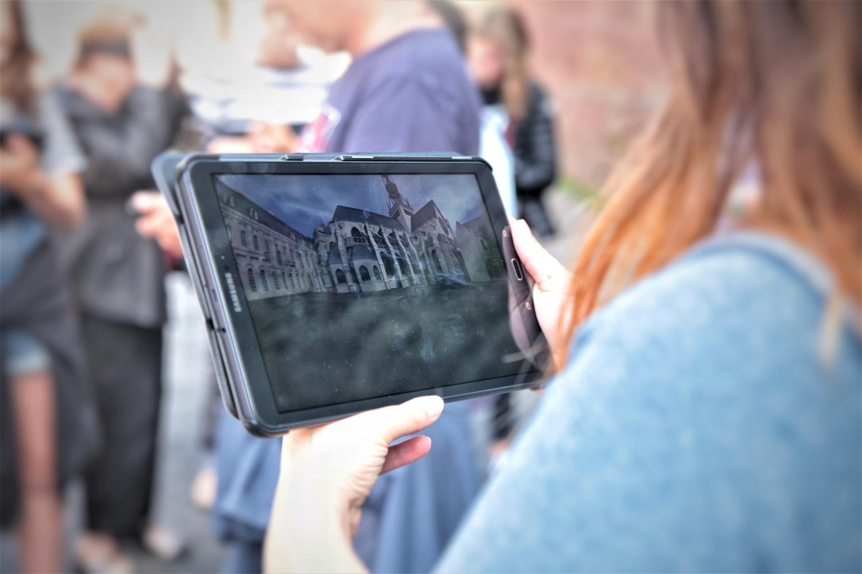 L'abbaye de Corbie en réalité virtuelle