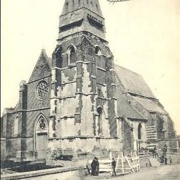 Le hamel anc eglise en 1915 copie