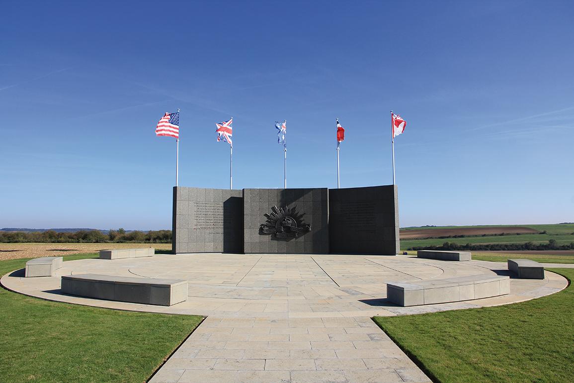 L'Australian Corps Memorial Park de Le Hamel