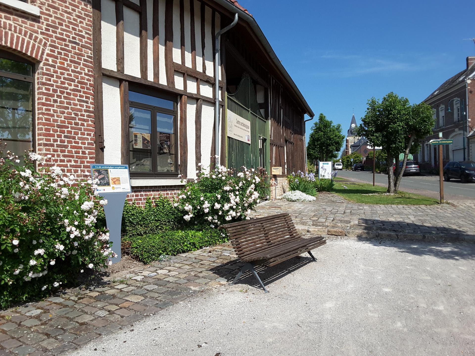 Le centre archéologique de Ribemont-sur-Ancre