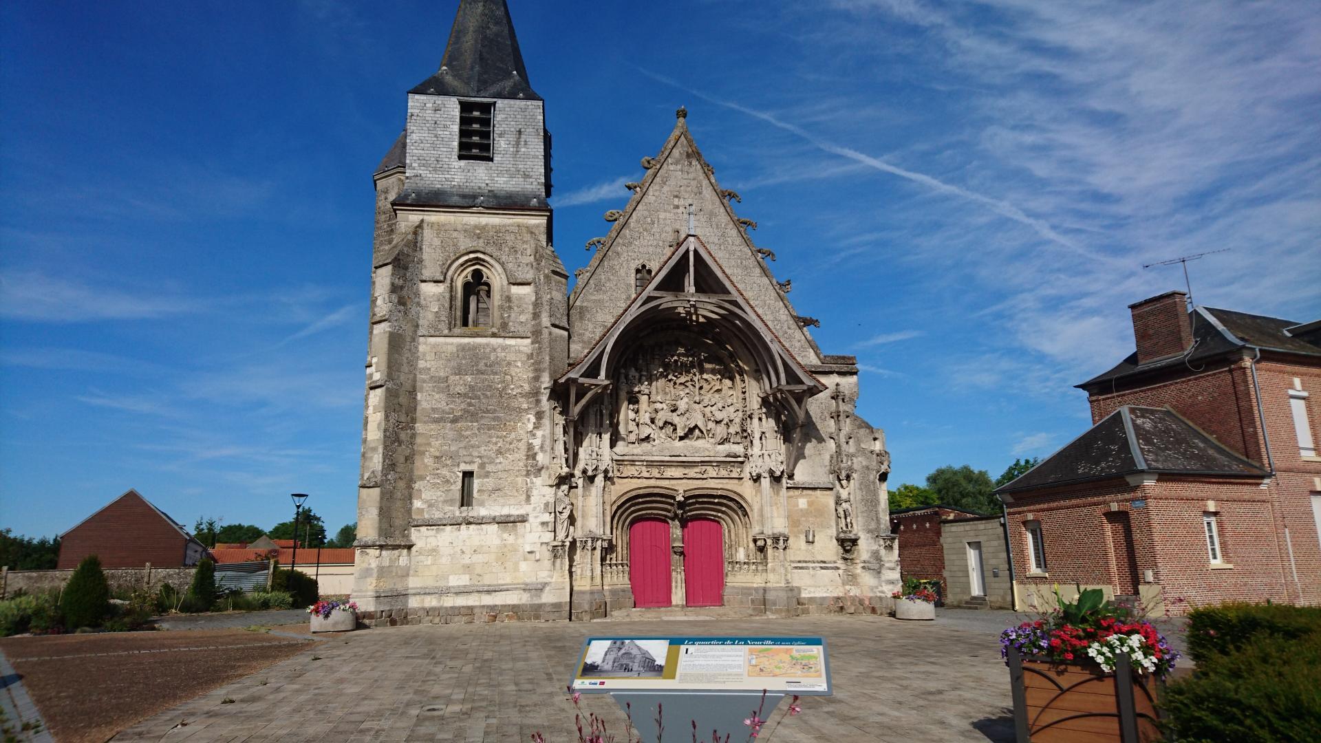 L'église de la Neuville (étape 10)